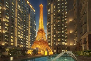 Residential Apartment for Rent in Kanakia Paris, Bandra Kurla Complex