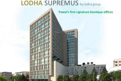 Commercial Office/Space for Lease in lodha supremus