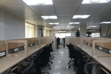 fully furnished and well-Planned commercial office in a prime location of vikhroli wes